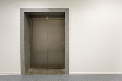Trappe en métal d'ascenseur photos libres de droits