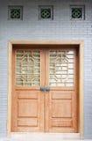 Trappe et hublots classiques chinois Photos libres de droits