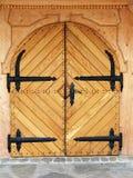Trappe fermée - aucune entrée Photographie stock libre de droits