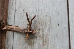 Trappe fermée Voisin de Bath Denau photo stock