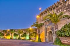 Trappe impériale de ville chez Meknes, Maroc Photographie stock libre de droits