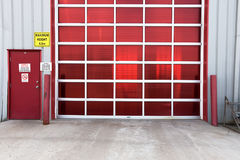 Trappe industrielle de compartiment Photographie stock