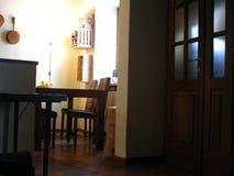 Trappe intérieure à la maison de la Toscane Photographie stock libre de droits