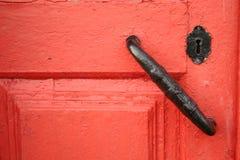 Trappe rouge Images libres de droits