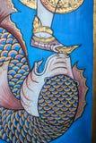 Trappe thaïe de temple Image stock