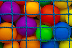 Trapped balls Royalty Free Stock Images