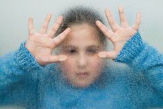 Trapped Girl Stock Images