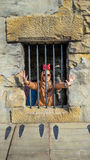 Trapped in jail Stock Photography