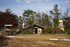 Trapper Nelson's. A historic homestead in Florida's Jonathan Dickinson State Park Royalty Free Stock Images