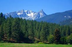 Trapper Peak, Bitterroot Mountains - Montana Royalty Free Stock Photo