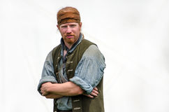 1700 trapper reenactment Royalty Free Stock Image