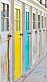 Trappes colorées Image stock