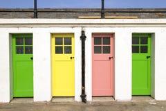 Trappes colorées Images libres de droits