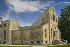 Trappist Monastery. The trappist monastery in winnipeg manitoba canada royalty free stock photography