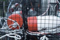Trappola dell'aragosta fotografie stock libere da diritti
