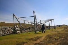Trappola dell'uccello di Heligoland Immagini Stock Libere da Diritti