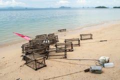 Trappole del pesce Fotografia Stock Libera da Diritti