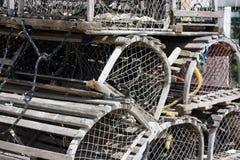 Trappole dell'aragosta Immagini Stock