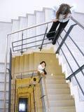 trappuppgång 2 Arkivbilder