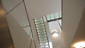 trappuppgång lager videofilmer