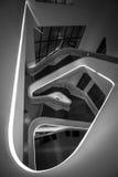 Trappuppgång för Dongdaemun designPlaza Royaltyfri Foto
