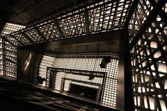 trappuppgång för dubbel spiral Arkivfoto