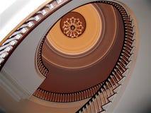 trappuppgång för herrgård s för gov il fotografering för bildbyråer