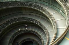 trappuppgång vatican Arkivfoton