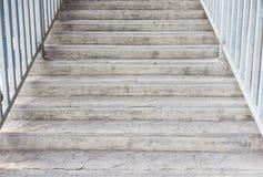 Trappuppgången metar beskådar upperen Royaltyfri Fotografi