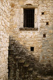 trappuppgångfönster Arkivbilder
