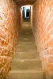 trappuppgångstenväggar Royaltyfri Bild