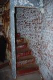 Trappuppgångvågbrytare fyr, Lewes, Delaware Royaltyfria Bilder