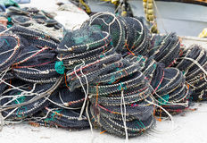 Traps for capture fisheries Royalty Free Stock Photography