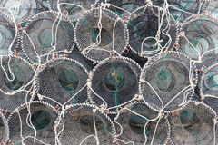 Traps for capture fisheries Royalty Free Stock Photo