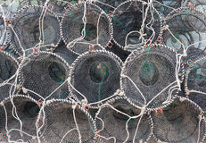 Traps for capture fisheries Royalty Free Stock Images