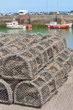 Traps for capture fisheries and seafood Stock Photography