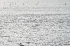 Traps in the sea Stock Image