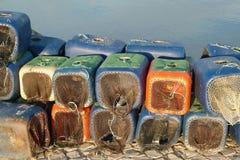 Traps for shellfish Stock Image