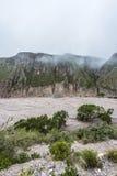 Trasa 13 Iruya w Salto prowinci, Argentyna Fotografia Royalty Free