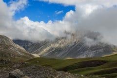 Trasa przez cudownych miejsc Picos De Europa Obraz Stock