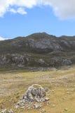 Trasa przez cudownych miejsc Picos De Europa Fotografia Royalty Free
