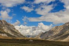 Trasa przez cudownych miejsc Picos De Europa Zdjęcie Royalty Free