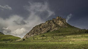 Trascaului-Schloss Stockfoto