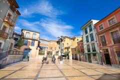 Trascorrales Square in Oviedo city Stock Images