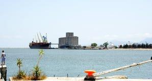 Trascuratezza del porto di La Goletta, la Tunisia Fotografia Stock Libera da Diritti
