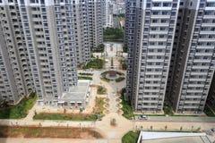 Trascuri il nuovo alloggio indemnificatory per la gente a basso reddito Fotografia Stock Libera da Diritti