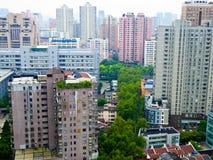 Trascuri la Comunità della residenza di Shanghai Immagine Stock Libera da Diritti