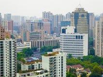 Trascuri la Comunità della residenza di Shanghai Immagine Stock