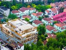 Trascuri la Comunità della residenza di Shanghai Immagini Stock