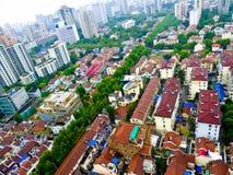 Trascuri la Comunità della residenza di Shanghai Fotografia Stock Libera da Diritti